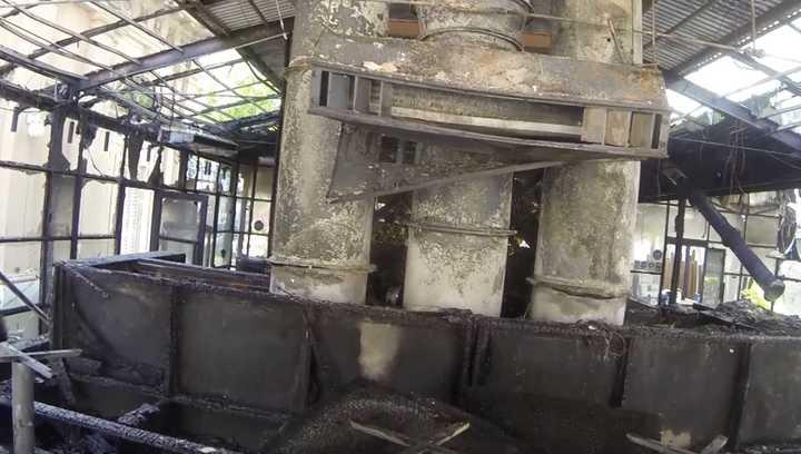 Incendio en restaurante de Belgrano