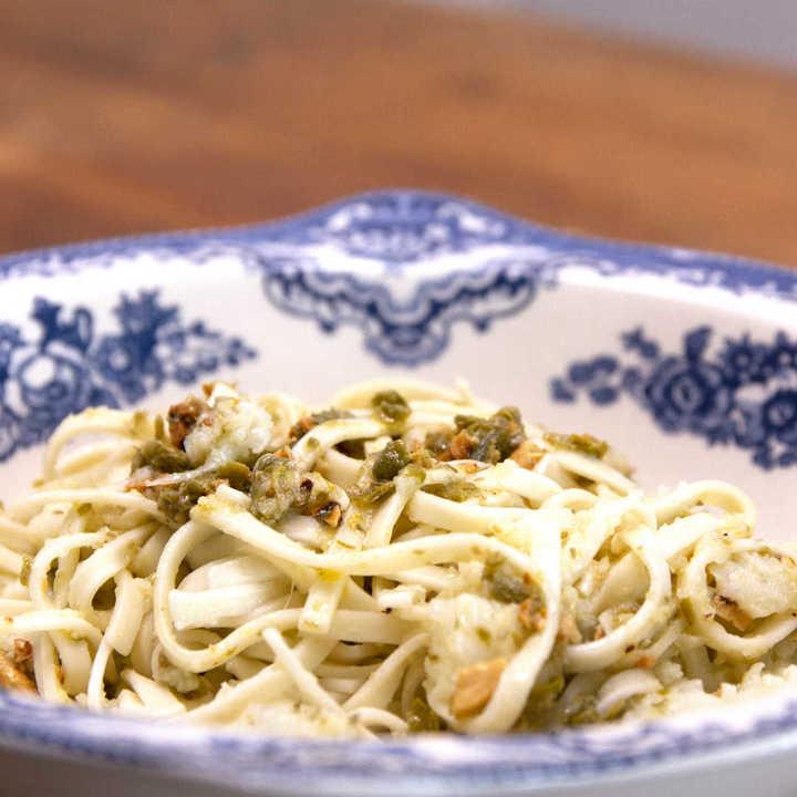 Receta de pasta con coliflor