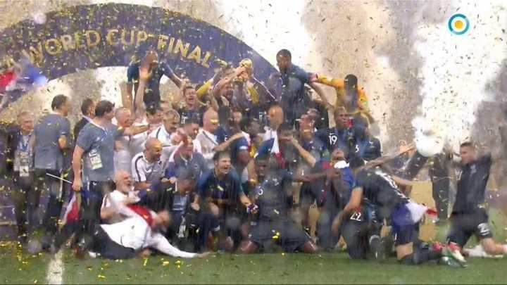 Francia levantó la Copa - Mundial Rusia 2018