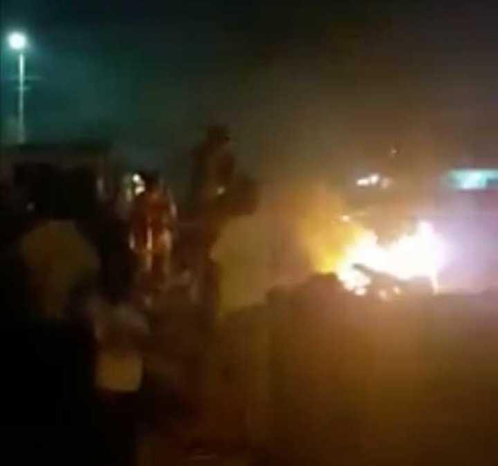 Incidentes en la estación Grand Bourg del Belgrano Norte