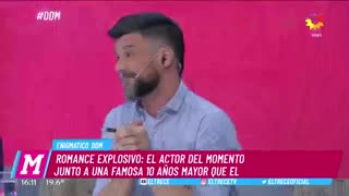 """El romance de Lorenzo Ferro y Militta Bora. En """"El diario de Mariana"""" (El Trece)"""