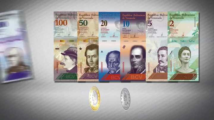 """Así presenta el Banco Central de Venezuela al nuevo """"bolívar soberano"""""""