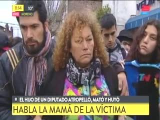 Norma, la mamá de Federico Rearte