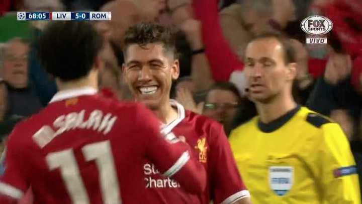 Liverpool 5 - Roma 0
