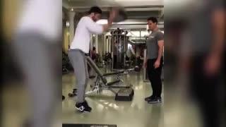 El entrenamiento de Ryan Reynods