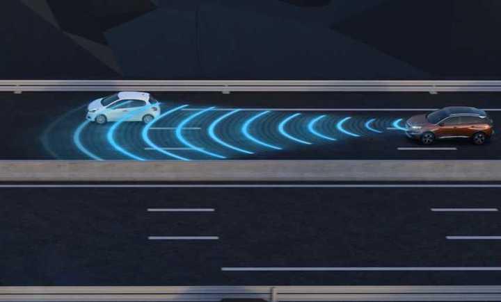 Control de velocidad crucero adaptativo