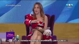 "Nicole Neumann le contestó a Mica Viciconte en ""Cortá por Lozano""."