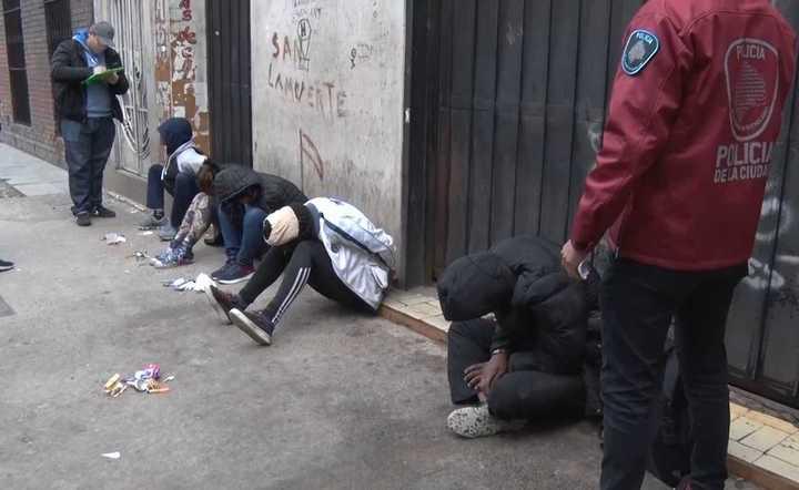 Modalidad Piraña: detenciones en la zona de Constitución