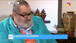 Elisa Carrió con Lanata (II)