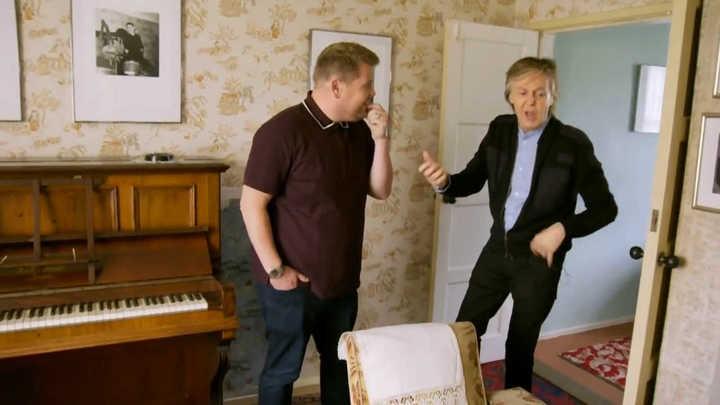 Imperdible. Un mágico y emocionante paseo por Liverpool, con Paul McCartney cantando en el 'Carpool Karaoke' de James Corden. (Versión corta)