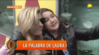 Laurita Fernández confirmó su relación con Nicolás Cabré
