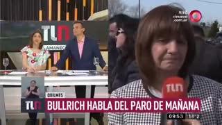 Patricia Bullrich advirtió que no permitirán cortes