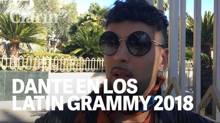 Dante Spinetta cuenta desde Las Vegas cómo vive la previa de la entrega de los Latin Grammy 2018