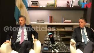 Macri y Dujovne hablaron del acuerdo con el FMI