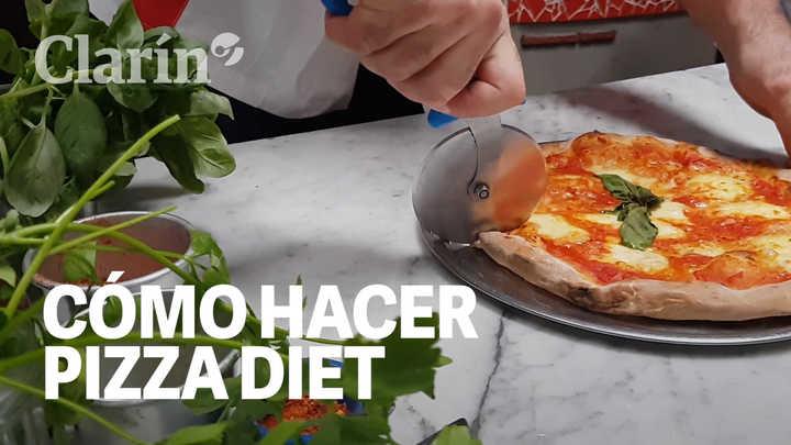 Pizza diet: la receta del chef italiano Pasquale Cozzolino que le permitió bajar 50 kilos