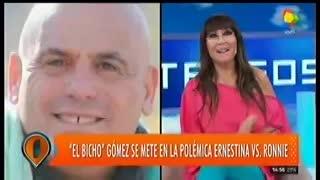 El Bicho Gómez respaldó las declaraciones de Ernestina Pais.