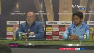 """Mano Menezes habló de """"injusticia"""" por la expulsión de Cruzeiro ante Boca"""