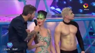 Los comentarios de Tinelli a Natalie Weber por la pelea Zárate-Cardona