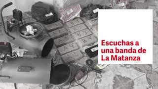 """Escuchas a una banda de La Matanza: La advertencia de un narco: """"Le voy a dar masa a unos guachos ahí en los monoblocks"""""""
