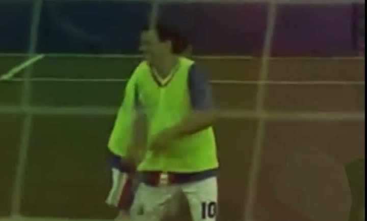 Golazo de Marcelo Gallardo en un partido a beneficio