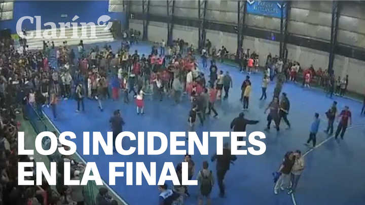 Futsal femenino: incidentes en la final de la Copa Argentina