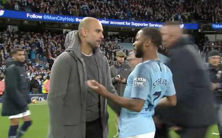 Pep Guardiola retó a Raheem Sterling