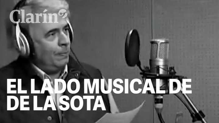 """El lado musical de De la Sota: El día que grabó """"Y apareciste tú"""", de Cacho Castaña"""