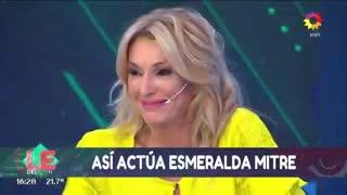 """En """"Los especialistas del Show"""" revelaron el apodo de Esmeralda Mitre."""