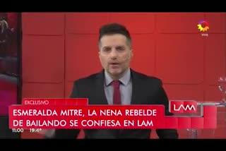 Fuerte cruce al aire entre Yanina Latorre y Esmeralda Mitre