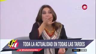 Maju Lozano estalló de furia contra Baby Etchecopar.
