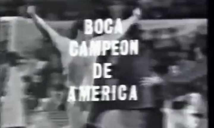 Boca campeón de la Copa Libertadores - Septiembre de 1977