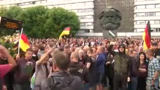 Cómo la extrema derecha de Alemania se apropió de un mantra de los movimientos democráticos