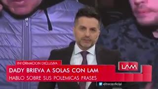 """""""Guarda que no ganaron 7 a 1 eh, ganaron 5 a 4"""", el mensaje de Dady Brieva para el Gobierno"""