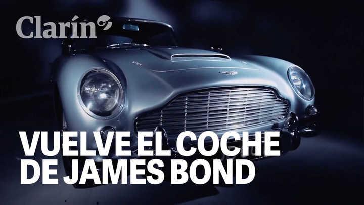 Aston Martin, que relanza un auto de James Bond, cotizará en la bolsa