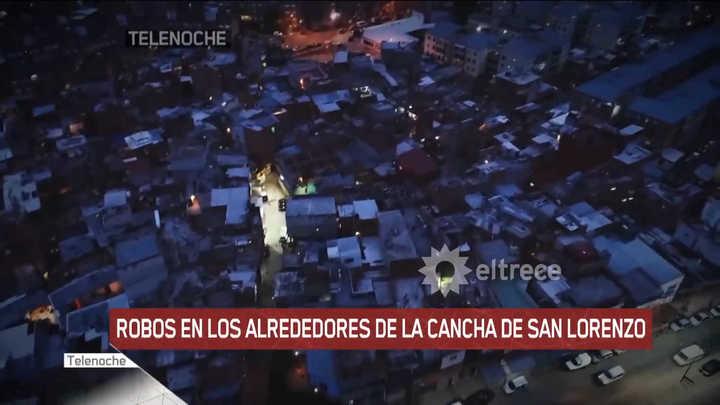 Los reiterados robos que sufrieron los hinchas de San Lorenzo en las inmediaciones de la villa 1-11-14