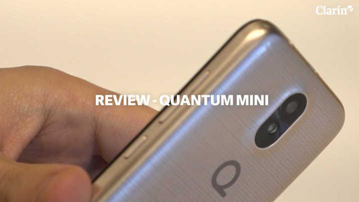 Quantum Mini, el primero con Android Go en Argentina