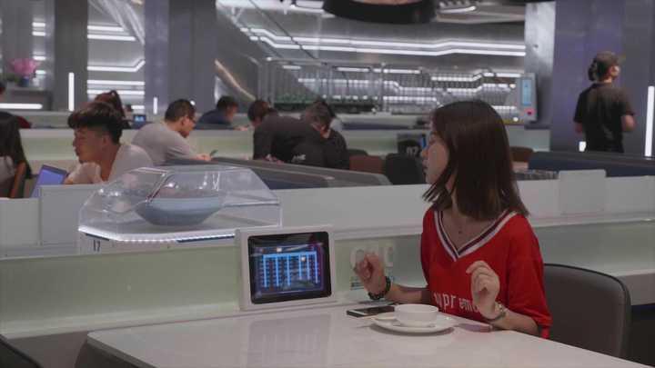 El restaurante robot de Alibaba