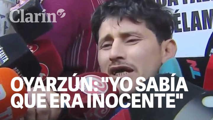 Las primeras declaraciones del carnicero Oyarzún luego de ser absuelto