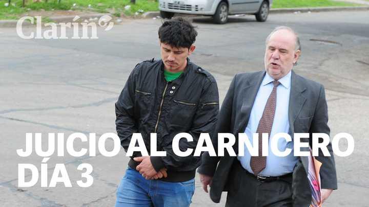Tercer día de juicio: duro cruce entre el fiscal y el carnicero