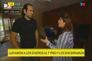Cristian, víctima de un millonario robo en su casa de Villa Ortúzar