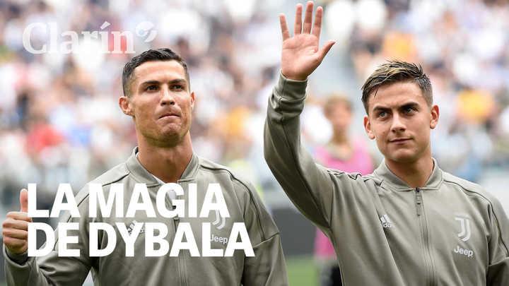 El caño de Dybala que sorprendió al público de la Juventus