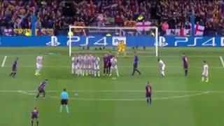 La jugada de Brosovic para tapar el remate de Luis Suárez.