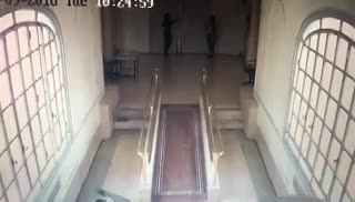 El último video de las cámaras de seguridad