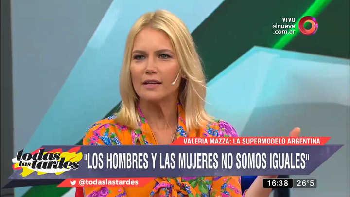 Valeria Mazza habló del feminismo en el programa de Maju Lozano