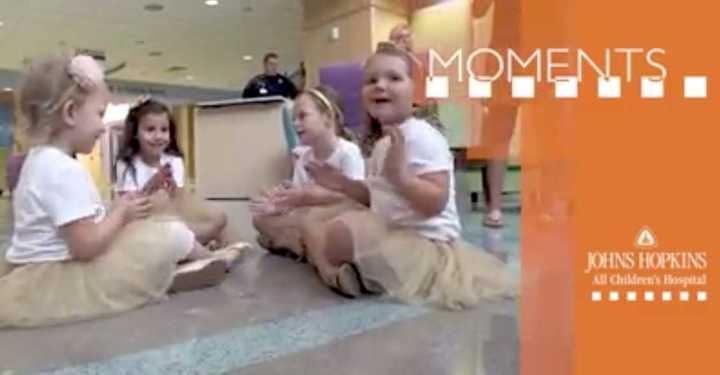 La conmovedora historia de las cuatro nenas que se hicieron amigas luchando contra el cáncer