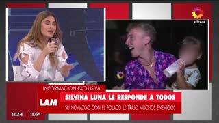 Silvina Luna, sobre su romance con Pico Mónaco