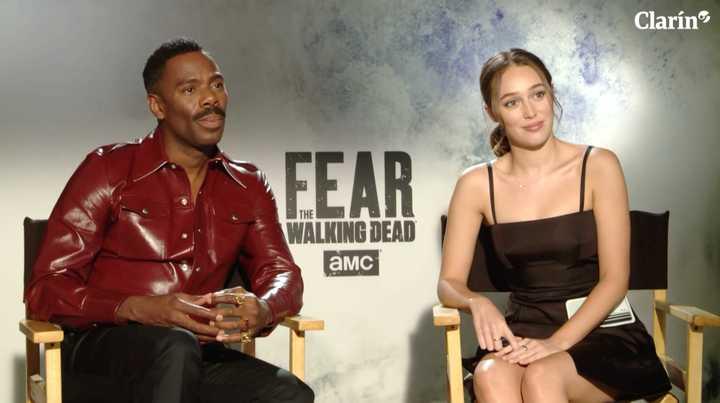 """Entrevista con Alycia Debnam-Carey (Alicia Clark) y Colman Domingo (Victor Strand), protagonistas de """"Fear the Walking Dead"""""""