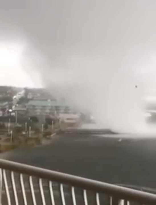 Increíble tornado en La Florida