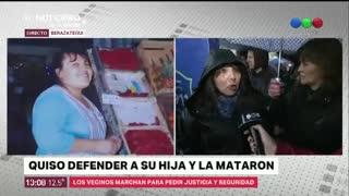 Verdulera asesinada en Berazategui
