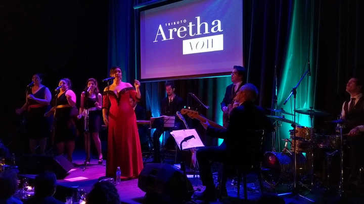 Belén Cabrera homenajea a Aretha Franklin 2.